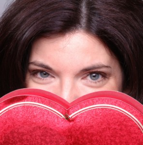 hidden heart for Valentine's day
